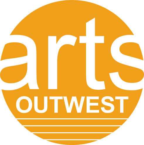 Arts OutWest logo